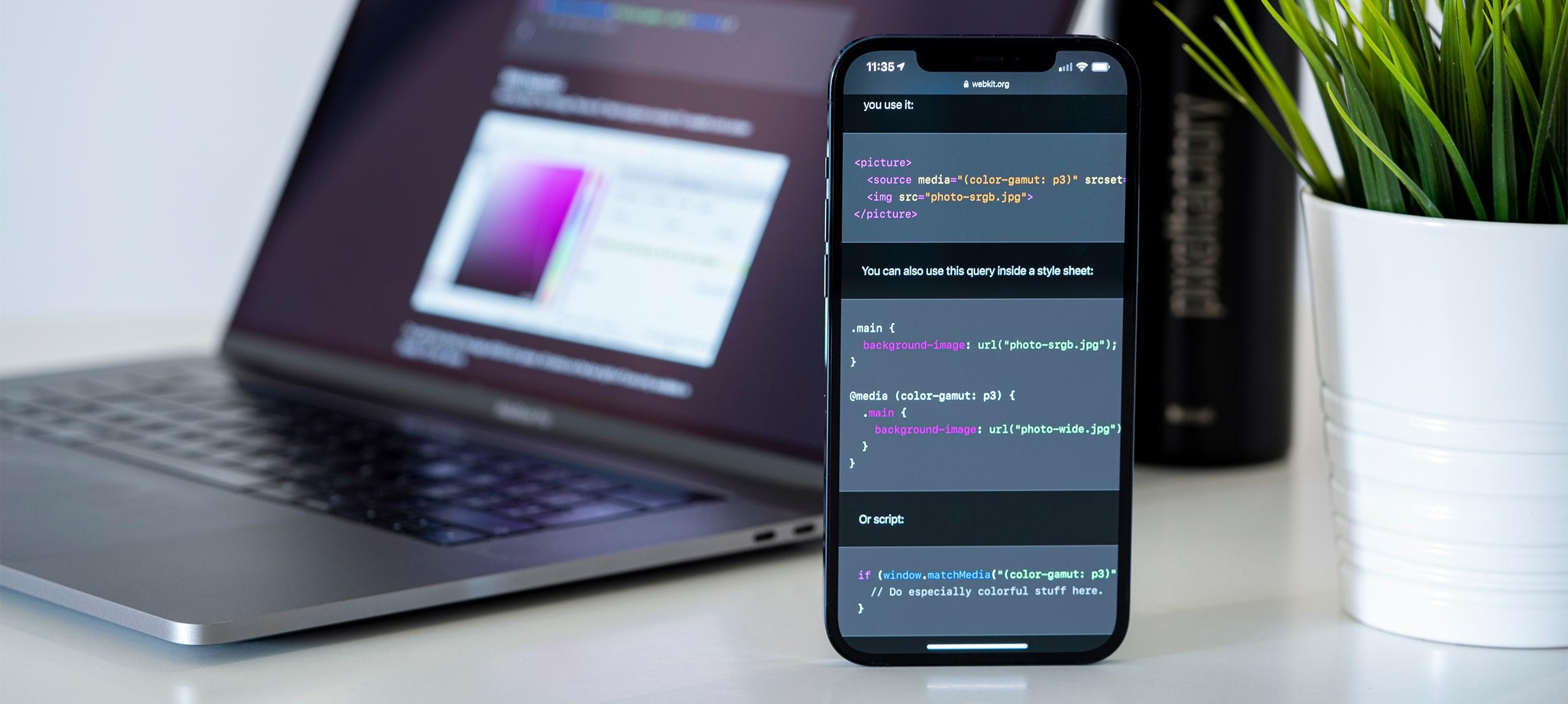 La gestione colore nel web e nei dispositivi mobile